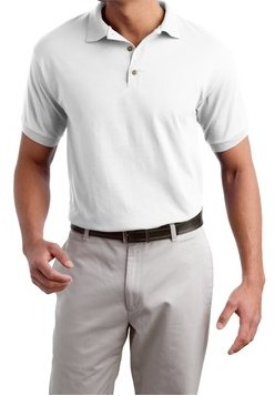 St. Pius White Polo